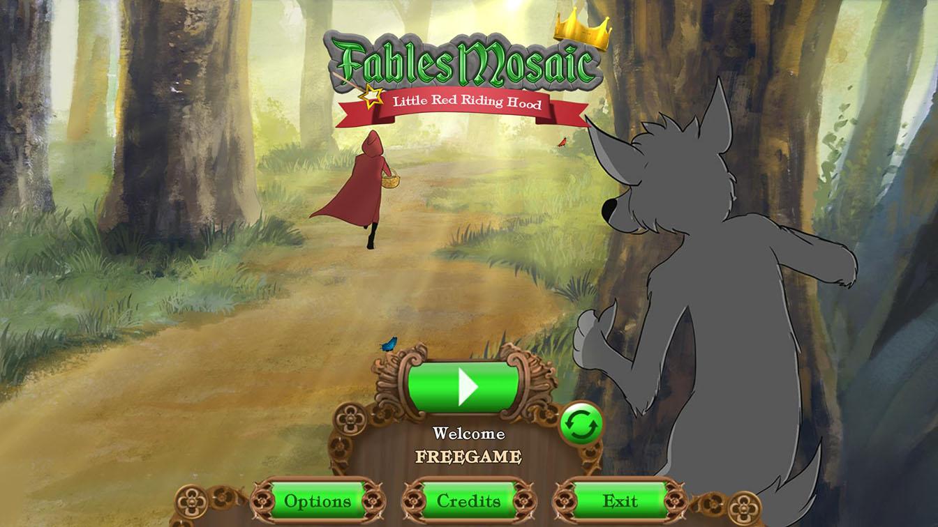 Сказочная мозаика: Красная Шапочка | Fables Mosaic: Little Red Riding Hood (En)
