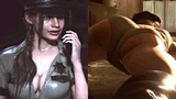 Resident Evil 2 - Thick Sheriff Claire Meets Leon Gameplay Mod