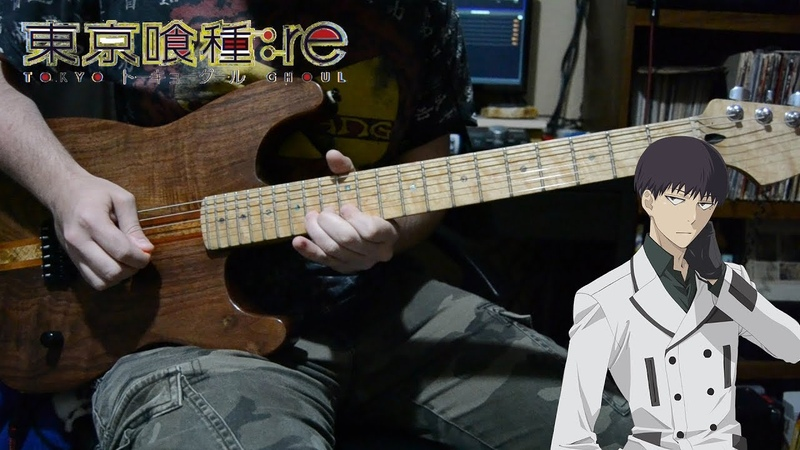 Tokyo Ghoul re Sesson 3 ED Solo『Half Ziyoou vachi 』 TABS Guitar Solo Cover 東京喰種トーキョーグール:re