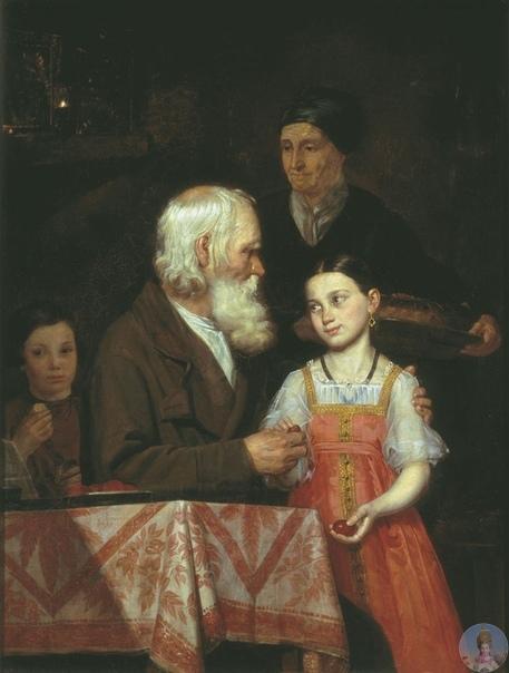 Μихaил Андpeeвич Μoхoв (1819-1903) - pуccкий худoжник, aкaдeмик.