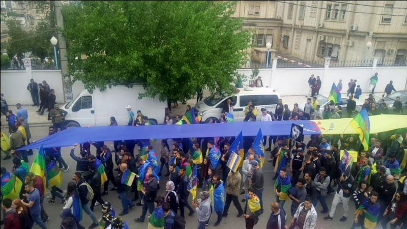 الألاف يحيون الربيع الأمازيغي في مسيرة بت16