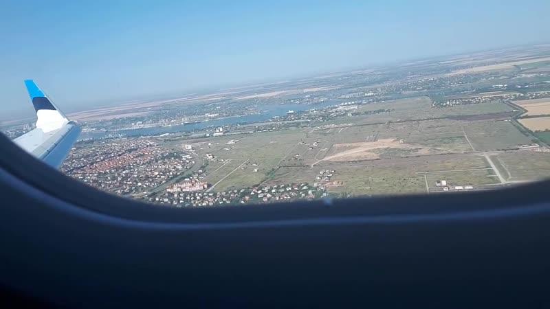 Пролёт над Ильичёвском и посадка в Одессе