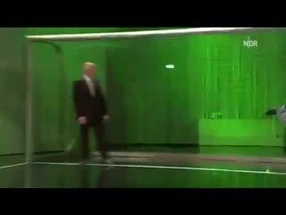 Клаус Фишер в немецком телешоу