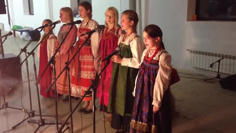 Ансамбль Кладец - Ой там на горі. Українська народна пісня