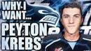 Why I Want: Peyton Krebs - Elite IQ / High Compete LW (Canucks 2019 NHL Entry Draft - Report)
