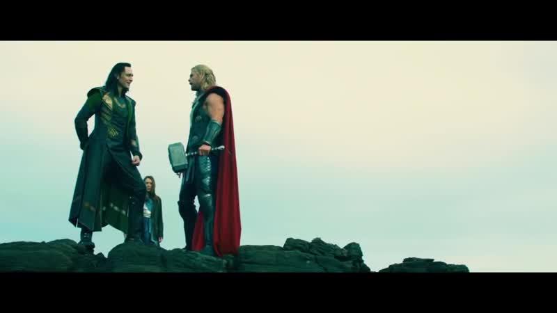 Thor and Loki Byaaa Myaa