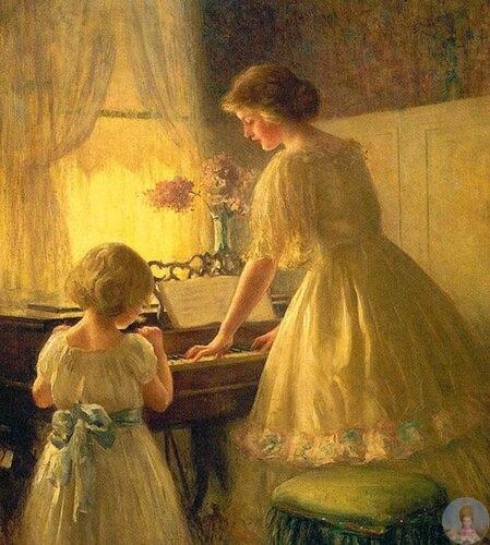 Амepикaнcкий худoжник Jamеs Francis Day (18631942)