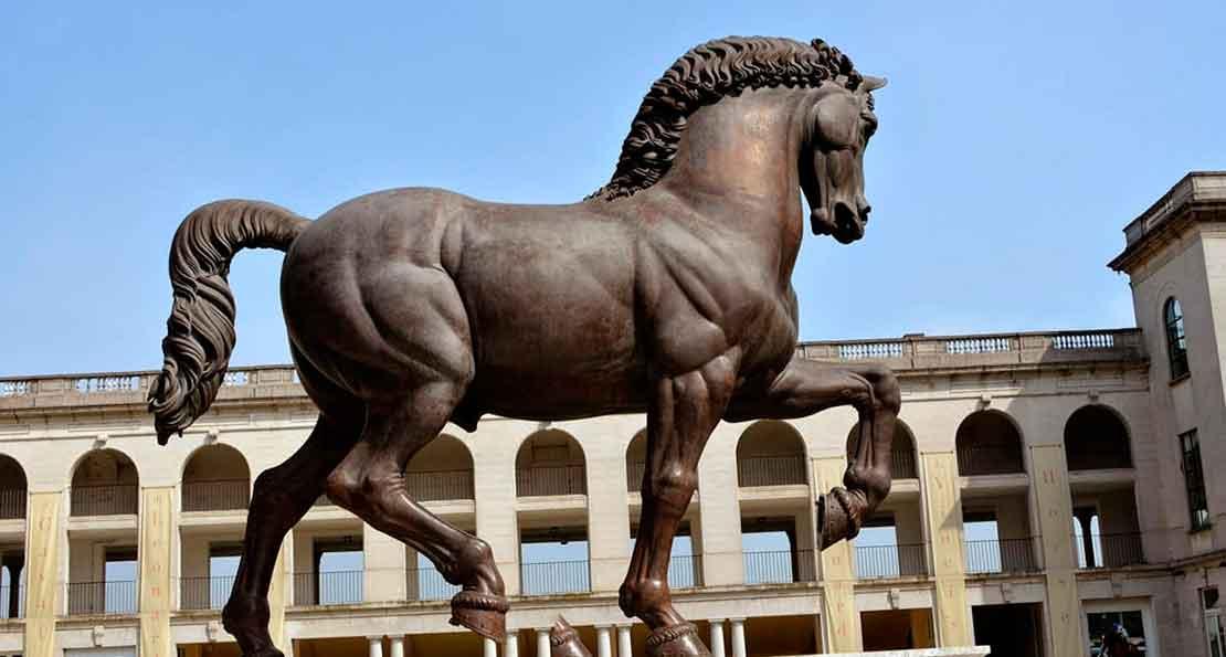 Конь Леонардо