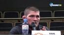 Хабиб Нурмагомедов назвал Ислама Махачева лучшим грепплером легкого дивизиона UFC