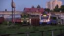 Дизель поезд Д1М 005 и теплвоз 3ТЭ10М 1103А D1M 005 DMU and 3TE10M 1103A