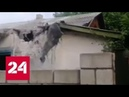 Пострадавшая при обстреле жительница Донецка скончалась в больнице - Россия 24
