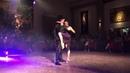 Jonathan Saavedra Clarisa Aragón dancing with live orchestra Tango Bardo at FTSE 2018