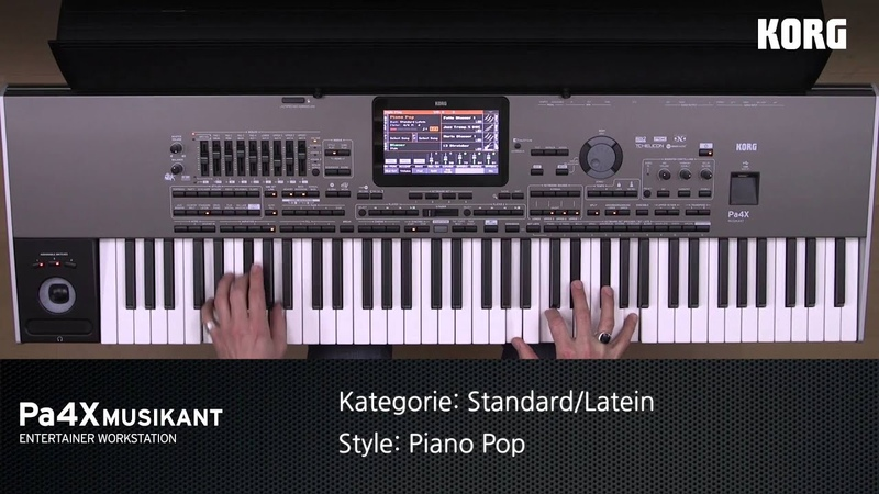 KORG Pa4X MUSIKANT Style Demos COUNTRY, LATEIN, STANDARD, WELT, SPEZIAL, BALLADE, etc. Styles