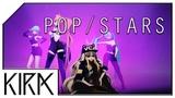 KIRA - POPSTARS ft. Gumi, Miku, SeeU, Uni (KDA Cover)