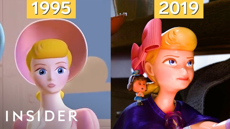 How Pixars Animation Has Evolved Over 24 Years, From 'Toy Story' To 'Toy Story 4' | Movies Insider