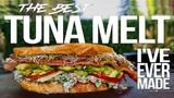The Best Tuna Melt Sandwich I've Ever Made SAM THE COOKING GUY 4K