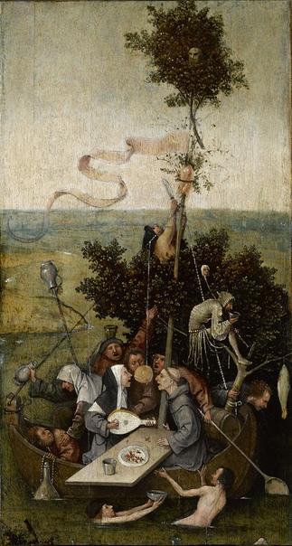 История одного шедевра. «Корабль дураков», Иероним Босх 1490-е. Дерево, масло. Размер: 57.8×32.5 см. Лувр, ПарижОдна из наиболее известных картин нидерландского художника, скорее всего была