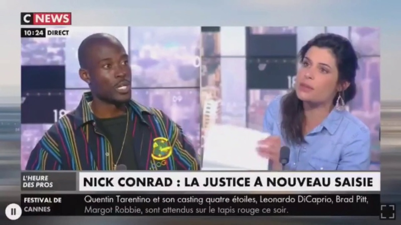 Charlotte dOrnellas démolit Nick Conrad ! Racisme anti-blancs et anti-France