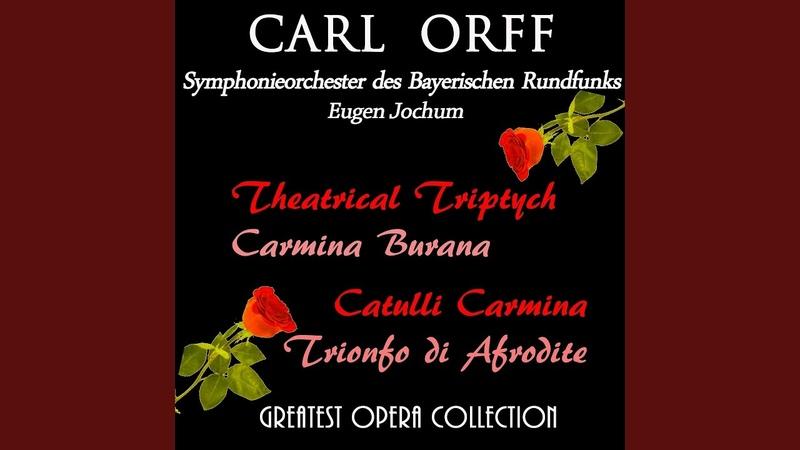 Trionfo di Afrodite Concerto scenico Invocazione dell'Imeneo Inno all'Imeneo