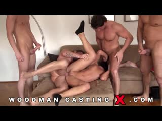 [pornoworld] woodman casting x - замужнюю nikki hidden выебали в четыре члена (anal, gangbang, hardcore, amature, много спермы)