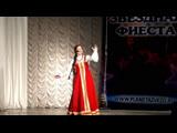 Регина Мамедова, 14 лет (г. Луганск) с песней «Птица-Тройка» на конкурсе в Ростове-на Дону
