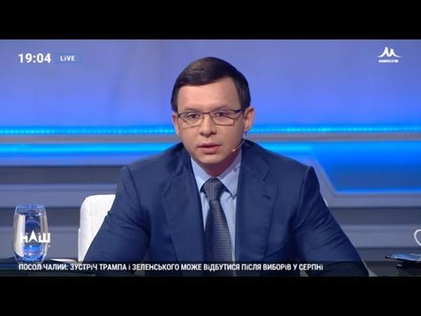 Мураєв Зеленський повинен відмінити указ про розпуск ВР, якщо КСУ визнає його незаконним. НАШ 14.06