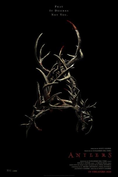 Новый трейлер хоррора «Оленьи рога» от Скотта Купера («Черная месса», «Недруги»).