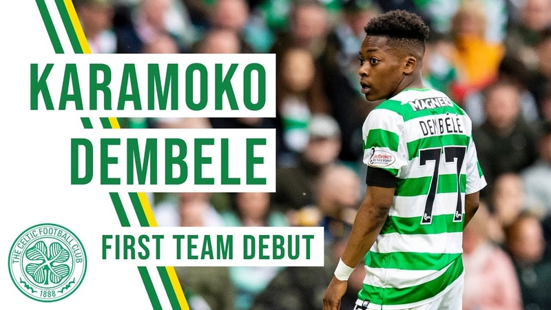 Dembele Dazzles Karamoko makes Celtic first-team debut at just 16 years old!