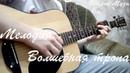 Мелодия Волшебная тропа, на гитаре