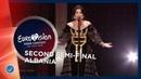 Jonida Maliqi - Ktheju Tokës - Albania - LIVE - Second Semi-Final - Eurovision 2019
