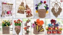 10 Most Beautiful Jute Craft Idea Best Out of Waste