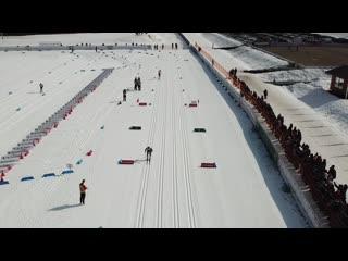 Мужской масс-старт на 50 км. 7 апреля - Чемпионат России 2019 в Малиновке. Проект