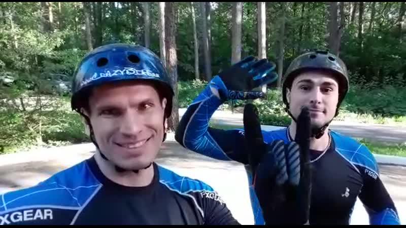Видеоприглашение от команды экстрим велошоу