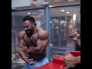 I arm wrestled 5 of the biggest guys in the gym