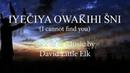 David Little Elk - Iyeciya Owakihi Sni (I Cannot Find You)