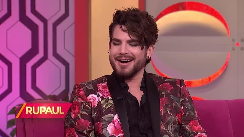 Adam Lambert on RuPaul - 24062019