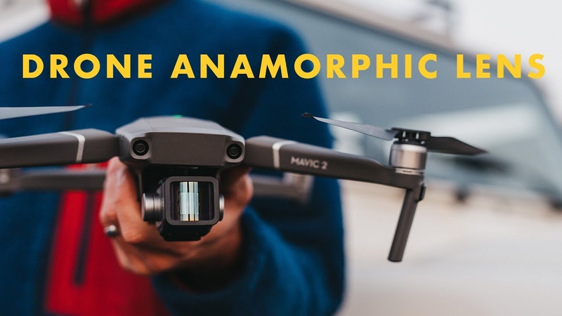 DRONE ANAMORPHIC LENS and FILTERS