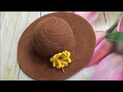 CÁCH MÓC NÓN HÈ HOW TO CROCHET SUMMER HAT