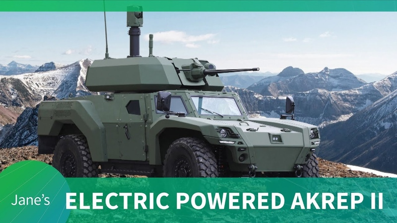 Otokar debut AKREP IIe Turkey's first Electric Armoured Vehicle