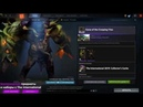 Curse of the Creeping Vine set for Undying DOTA 2 TI9 Collector s Cache