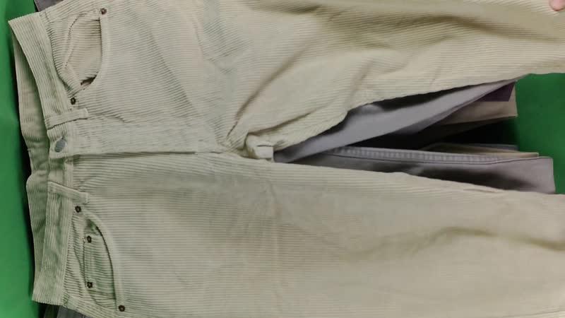 Мужские летние джинсы 2 (14 кг, 740 руб\кг, 23 шт)