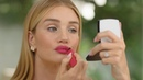 Rosie Huntington Whiteley's perfect bold lip My Beauty Tips Vogue Paris