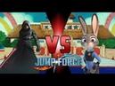 Darth Jar Jar vs Judy Hopps Jump Force 4K