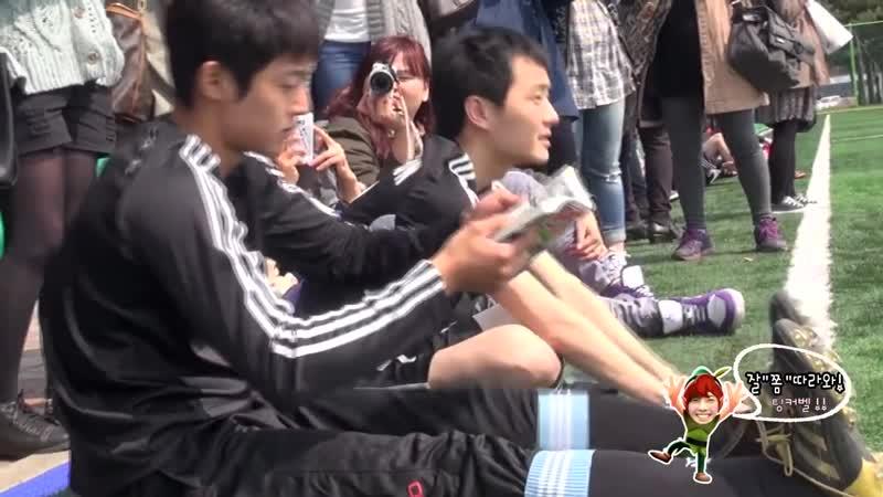 2013.04.13 김현중 Kim Hyun Joong - Nanji sewage treatment center soccer field