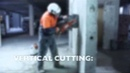 How to cut with a power cutter in a safe and efficient manor