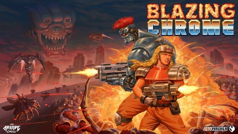 Blazing Chrome - Announcement Trailer