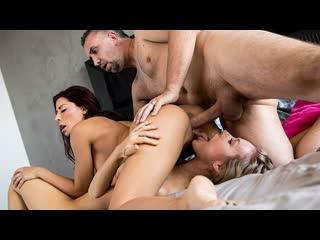 Madison ivy, nicole aniston hot horny homewreckers (big tits, blowjob, blonde, lesbian, threesome)