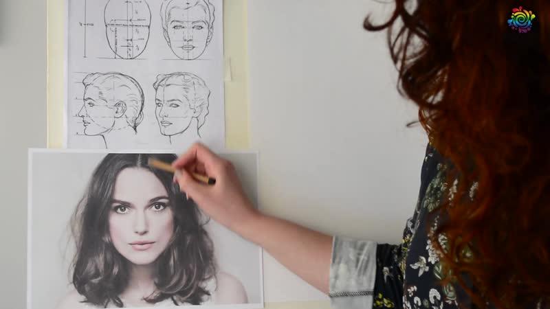 Основы портрета для начинающих с Кристиной Горбуновой - Часть 1. Пропорции лица_Full-HD