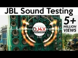 JBL Sound System Beat Test