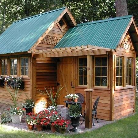 Mаленькие дачные домики